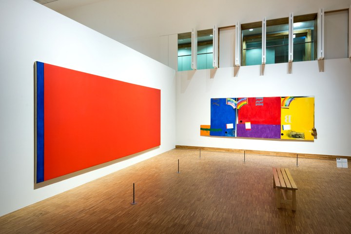 Barnett Newman, Who's afraid of Red, Yellow and Blue III, 1967