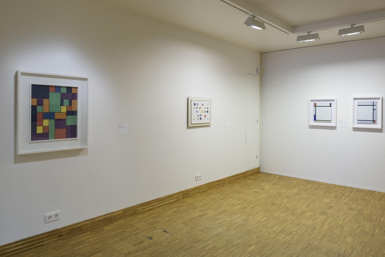 Zaaloverzicht De kleuren van De stijl met George Vantongerloo, Bart van der Leck en Piet Mondriaan