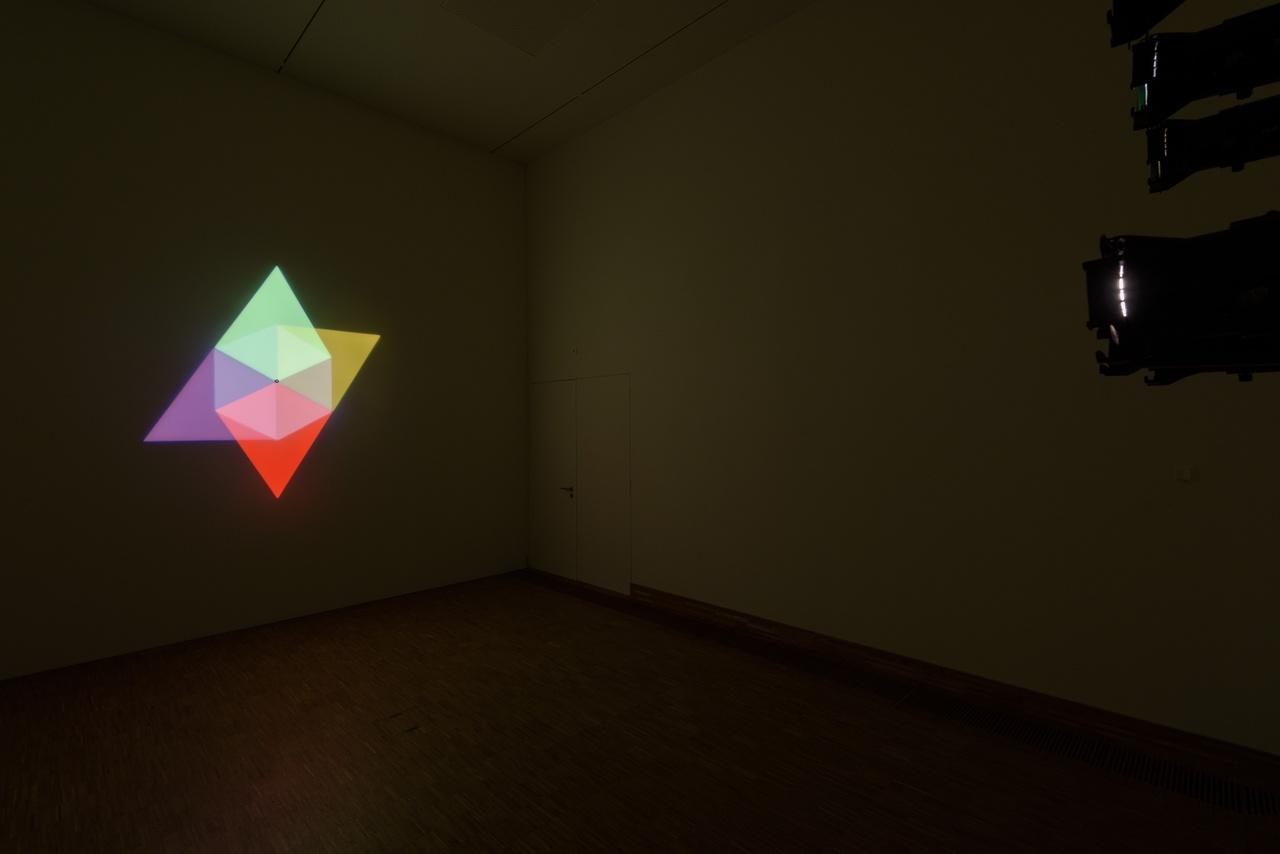 Olafur Eliasson, Ephermeral Afterimage Star, 2008, courtesy Tanja Bonakdar Gallery, New York, Verenigde Staten