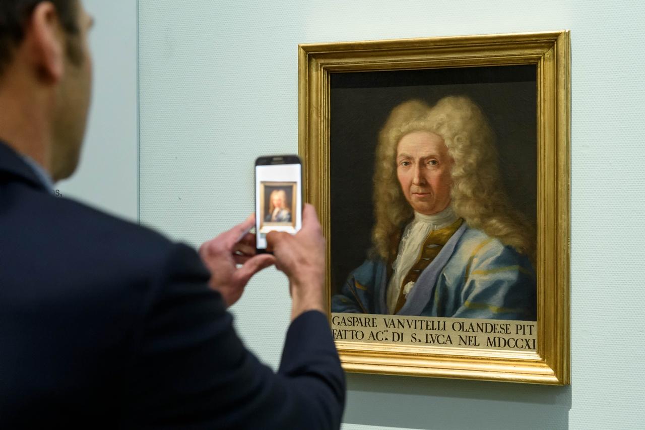 Luigi Vanvitelli, Portret Caspar van Wittel