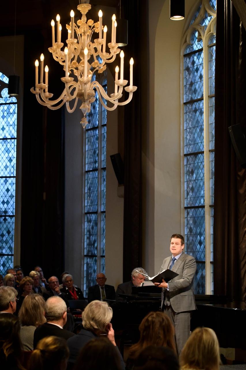 Opening Maestro van Wittel, Aegtenkapel, Amersfoort
