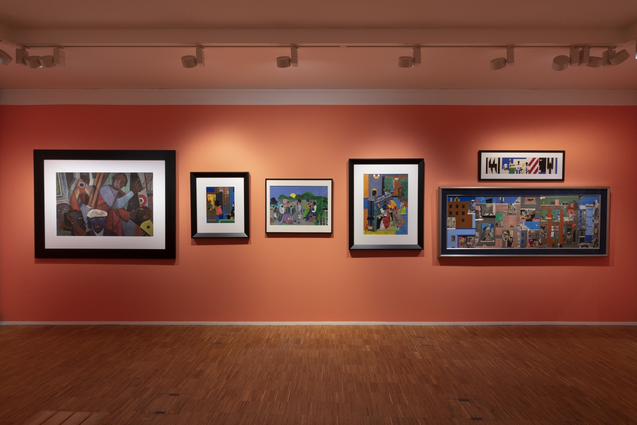 Post Harlem Renaissance met Romare Bearden. Photo Peter Cox.jpg