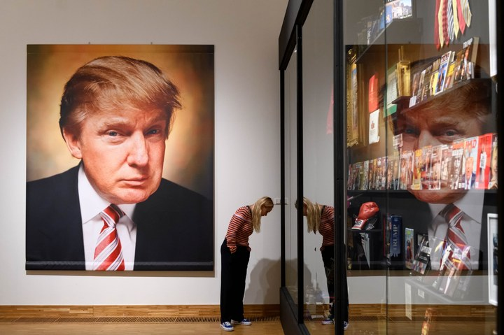 Andres Serrano, The Game All Things Trump, 2019. Photo Mike Bink for Kunsthal KAdE.jpg