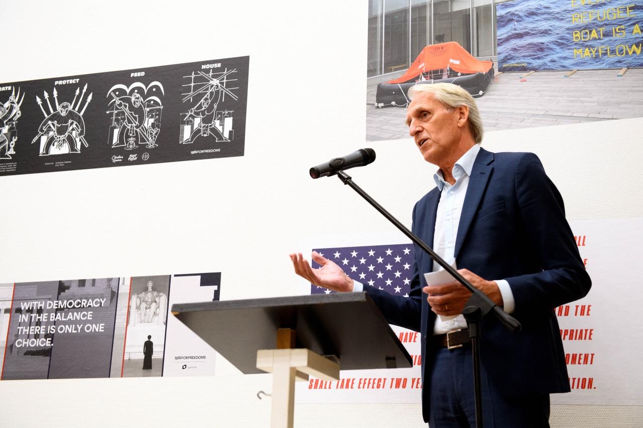 Opening This Is America, director Amersfoort in C, Paul Baltus, Photo Mike Bink.jpg