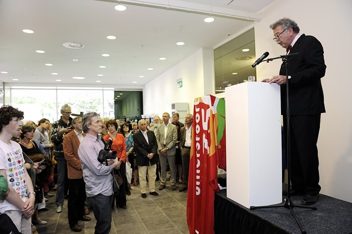 Opening Kunsthal KAdE, Kees Spaan