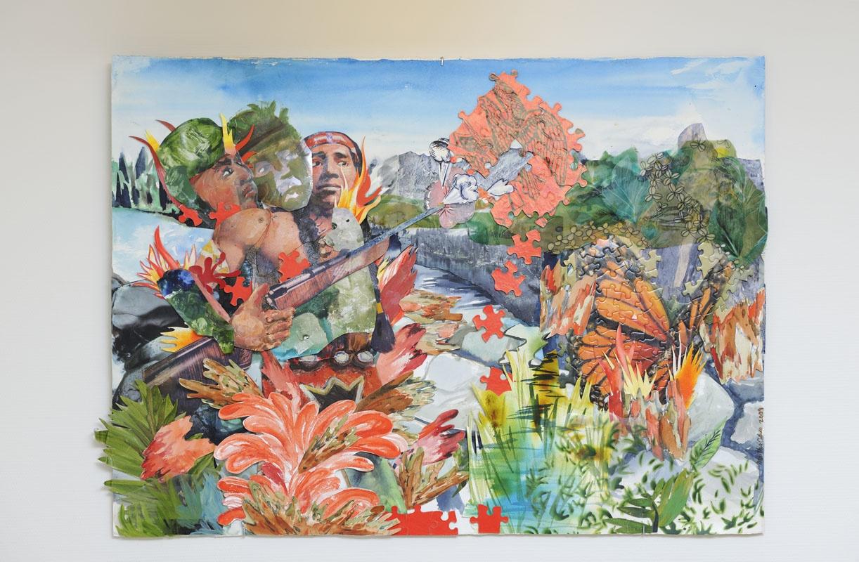 Martha Colburn,  Triumph of the Wild, part I, 2008