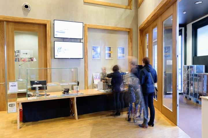 Besucher information