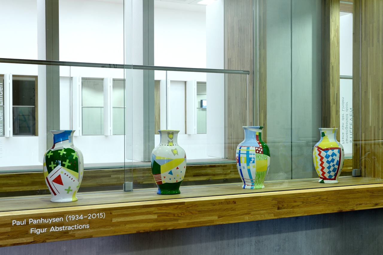 4 vazen uit  de Vaasotheek van Frank van der Linden