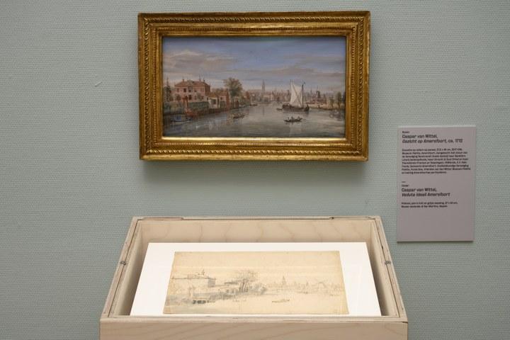 Caspar van Wittel, Zicht op Amersfoort en Veduta Ideali Amersfoort