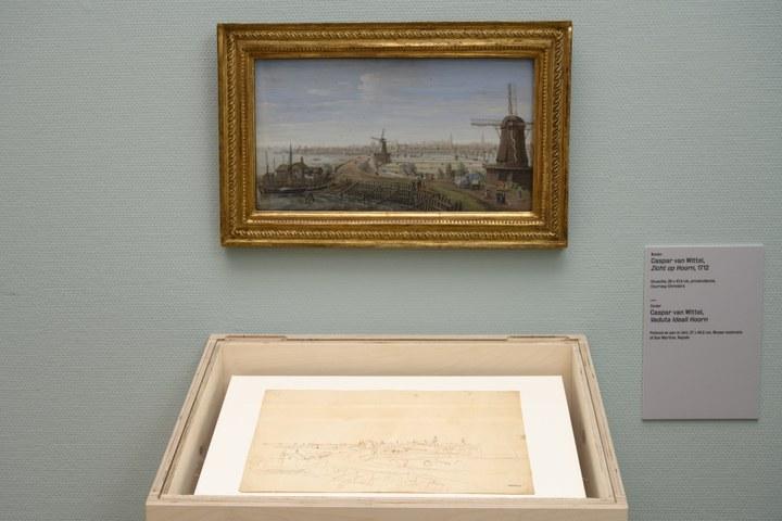 Caspar van Wittel, Zicht op Hoorn en Veduta Ideali Hoorn