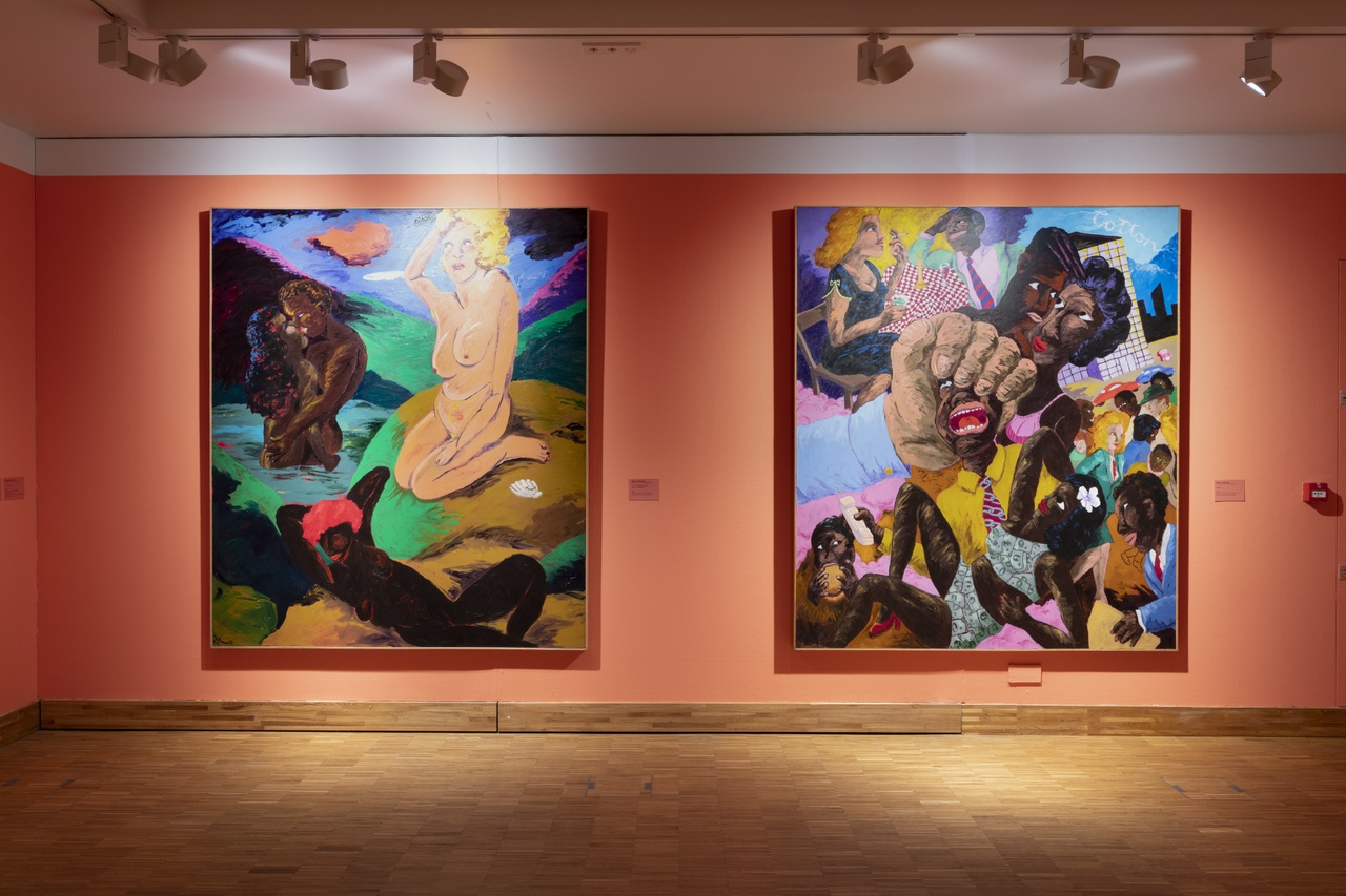 Post Harlem Renaissance met Robert Colescott. Photo Peter Cox.jpg