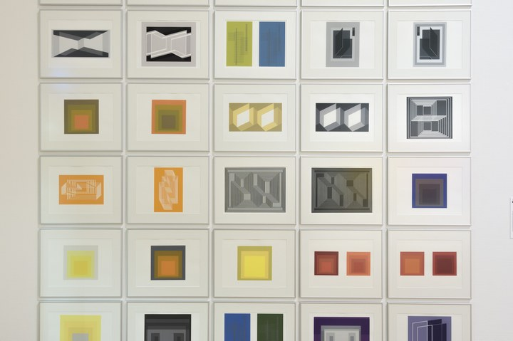 Josef Albers, Formulation: Articulation, 1972.