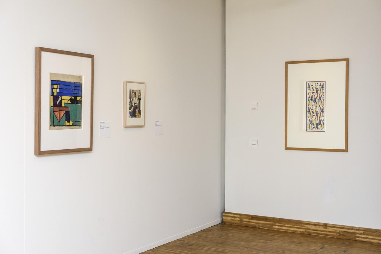 Zaaloverzicht De kleuren van De Stijl met werken van Theo van Doesburg