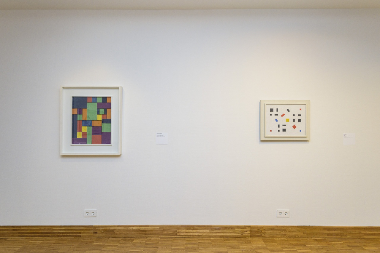 Zaaloverzicht De kleuren van De Stijl met George Vantongerloo en Bart van der Leck