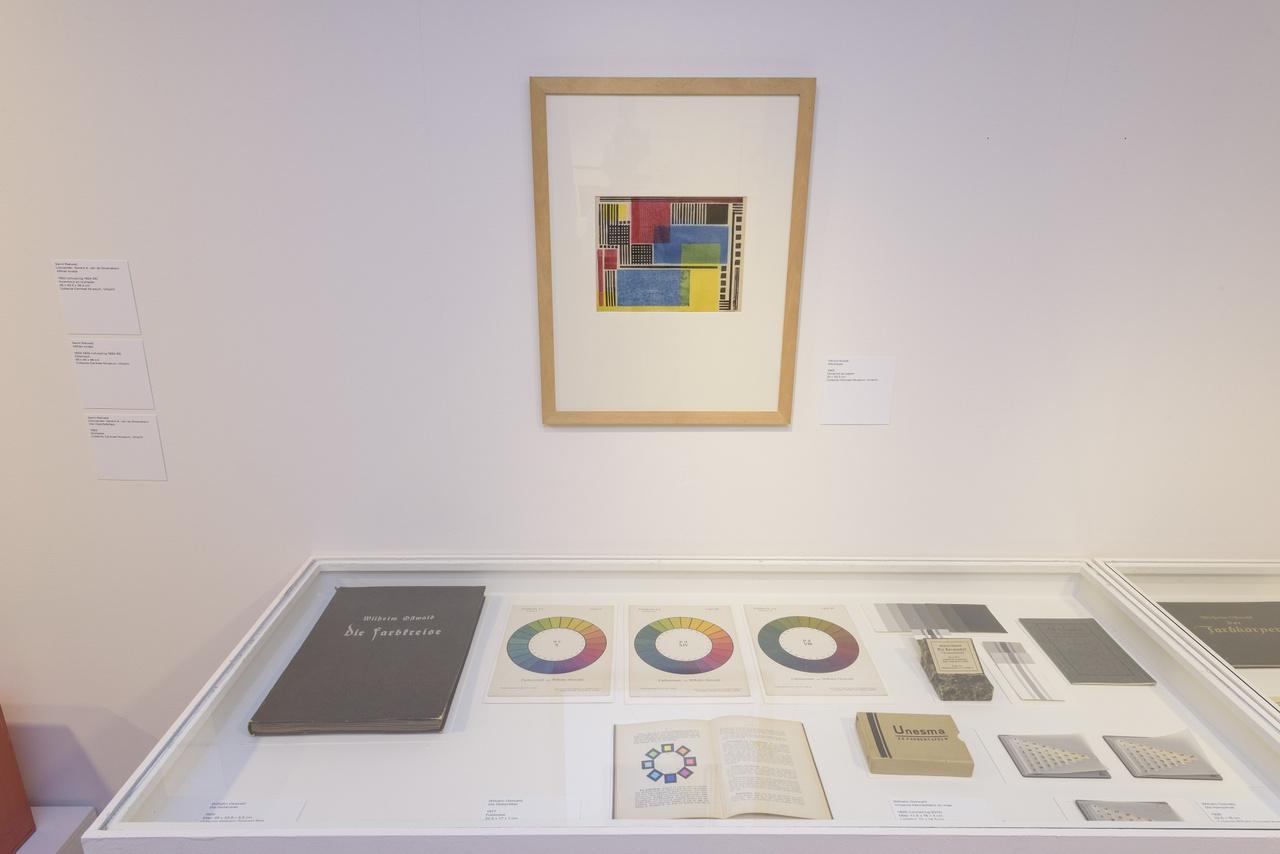 Zaaloverzicht De kleuren van De Stijl met Vilmos Huszar en Wilhelm Ostwald