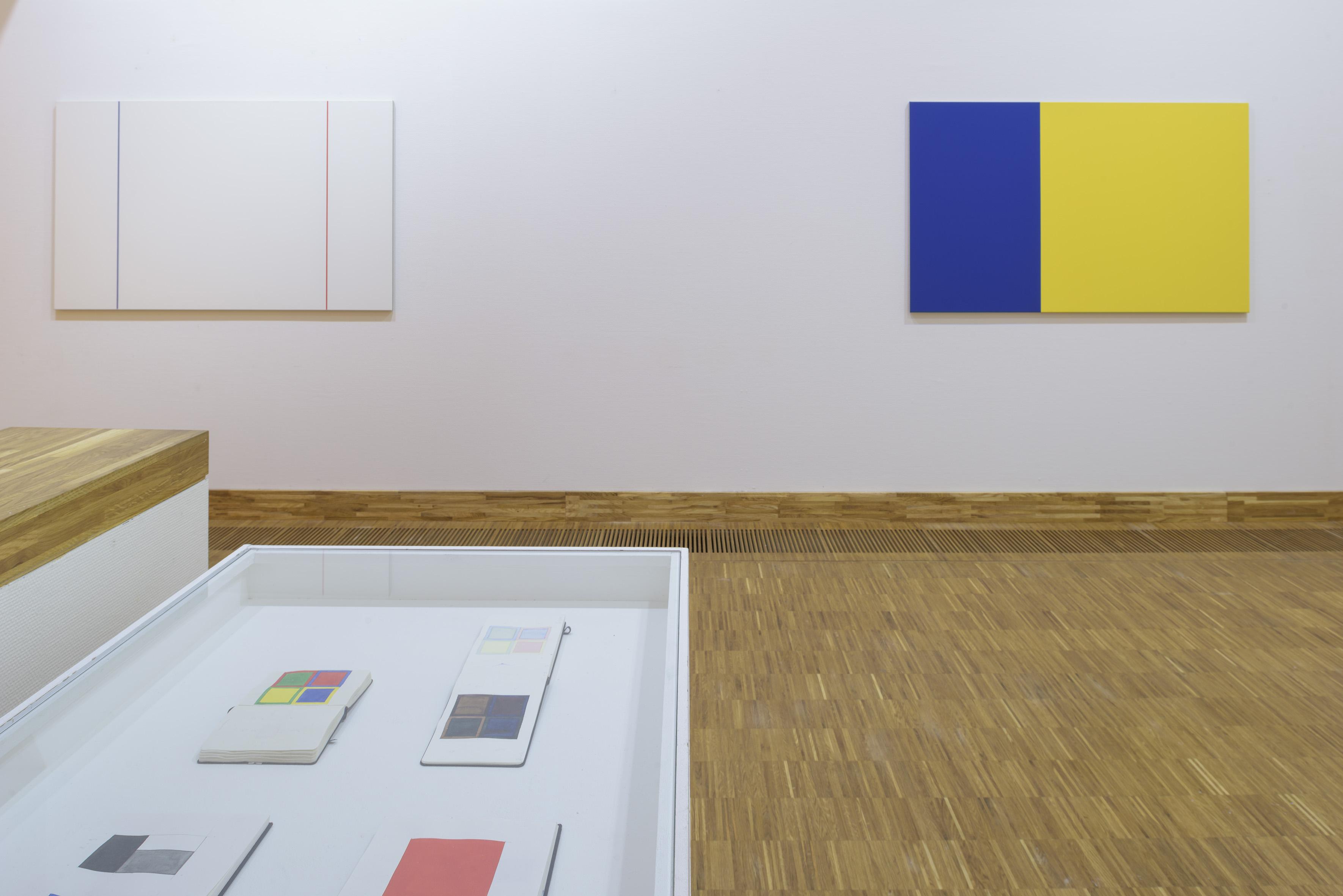 Zaaloverzicht De kleuren van De Stijl met werk Steven Aalders