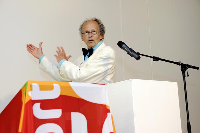 Opening Kunsthal KAdE, Gerard de Kleijn, directeur Amersfoort in C