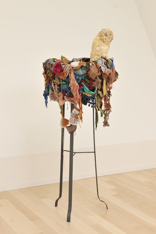 Barbara Polderman, Uil op nest, 2005