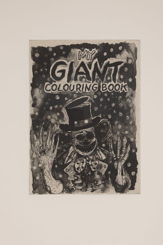 Jake & Dinos Chapman, My Giant Colouring Book, 2004