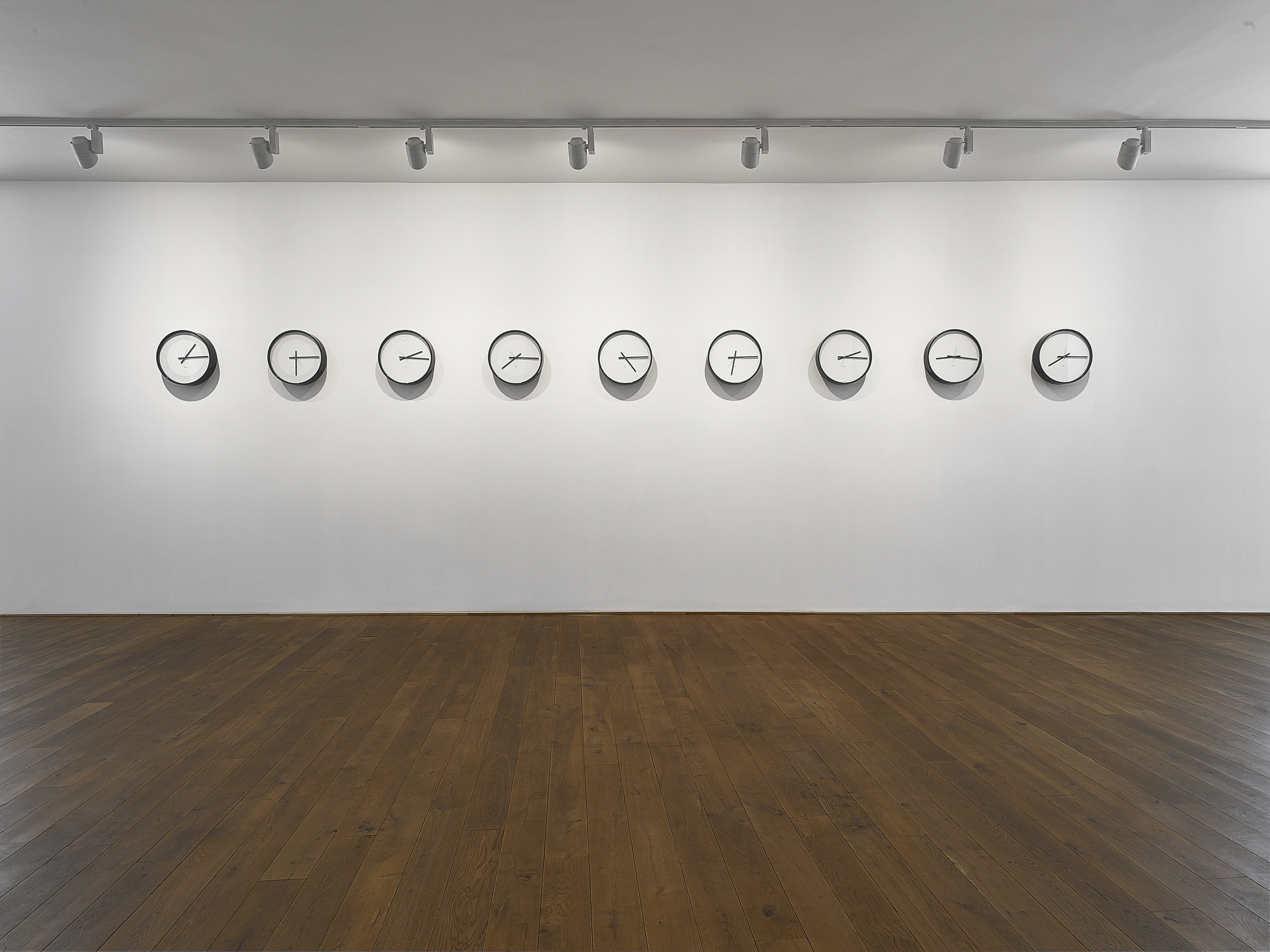 6. Katie Paterson, Timepieces (Solar system), overall, 2014.jpg