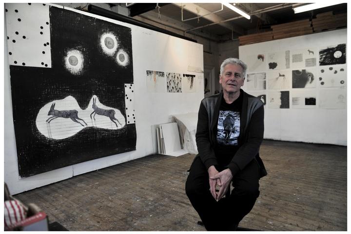 Afsluiting KRIJT met kunstenaar Arno Kramer