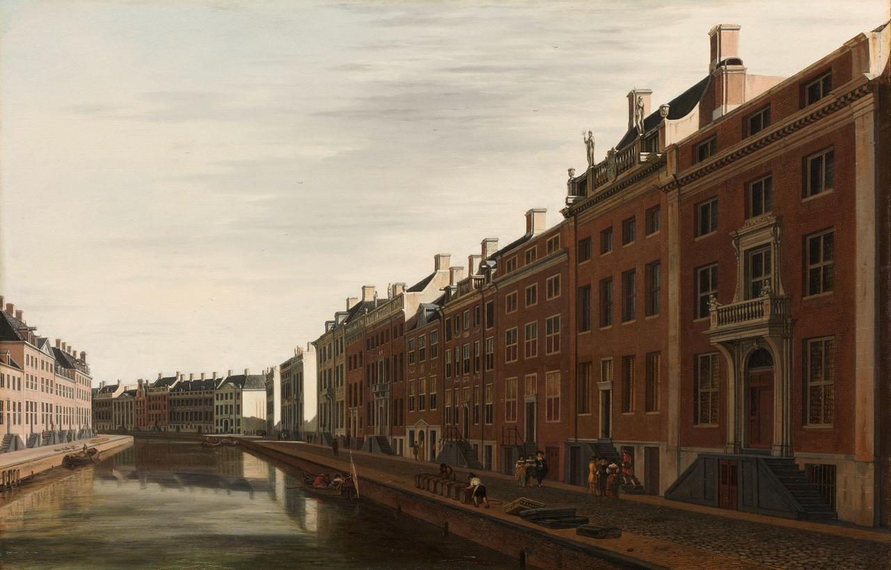 8_Gerrit Berckheyde, De Gouden Bocht in de Herengracht in Amsterdam vanuit het westen, 1671-72, olieverf op paneel, Rijksmuseum, SK-A-4750.jpg