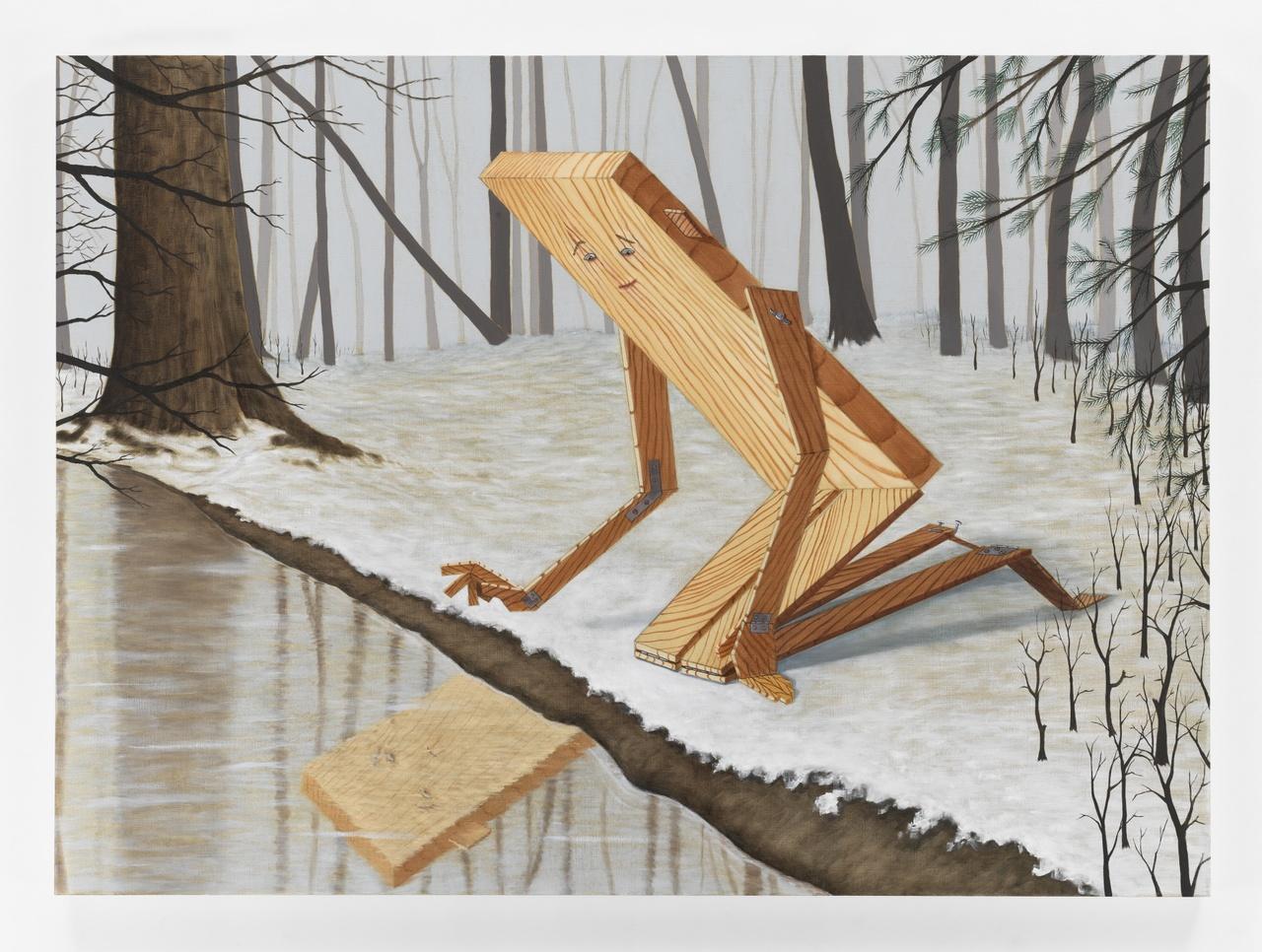 4. Sean Landers, Plankboy (Narcissus), 2019.jpg