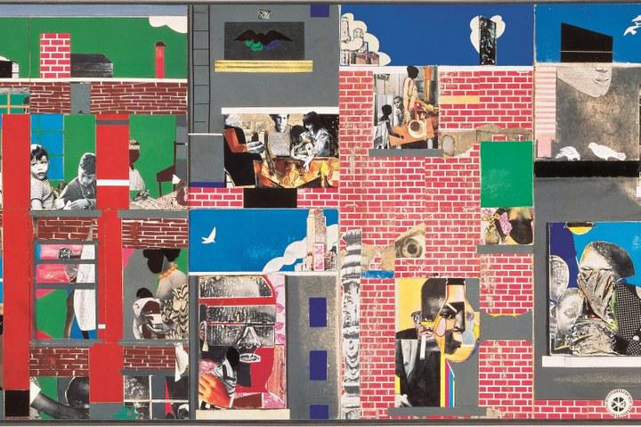 7. Romare Bearden - The Block II.jpg