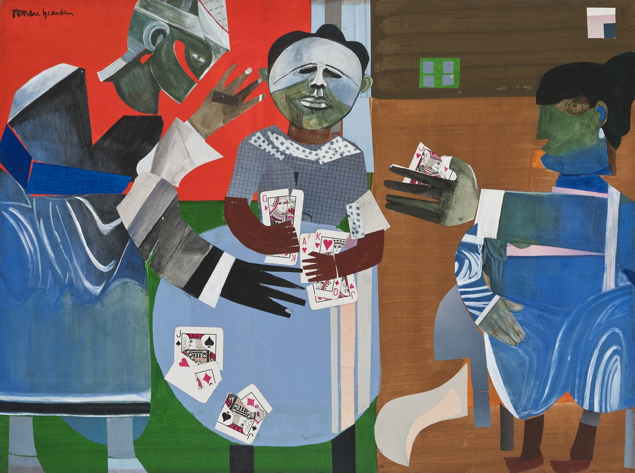 8. Romare Bearden - The Gamble.jpg