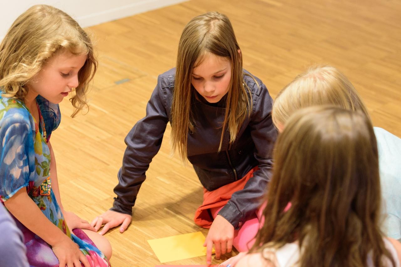 kinderrondleiding  - foto Cees Wouda