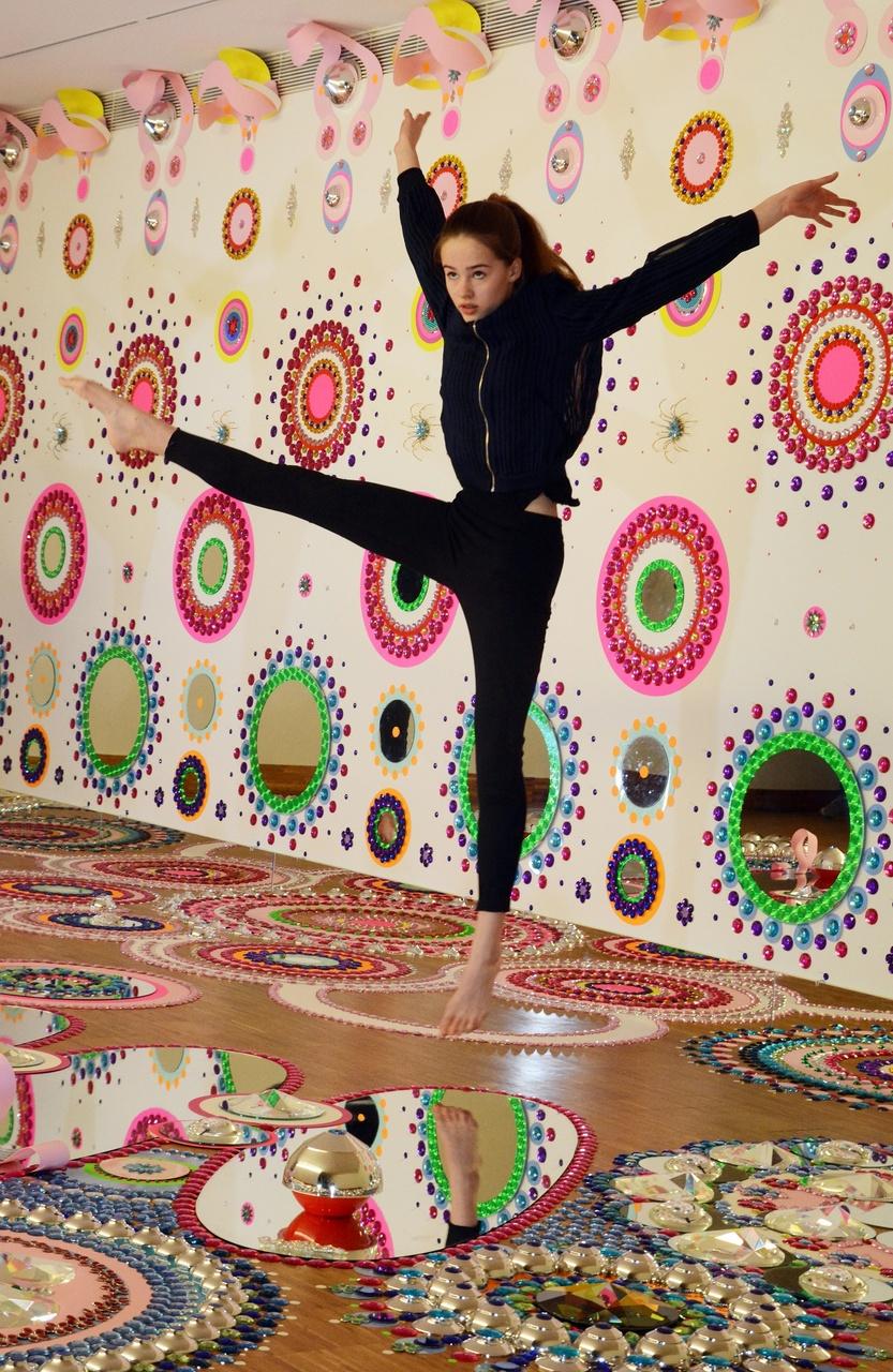 New Choreographic Design bij werk van Suzan Drummen in Kunsthal KAdE. Foto: Henry Krul