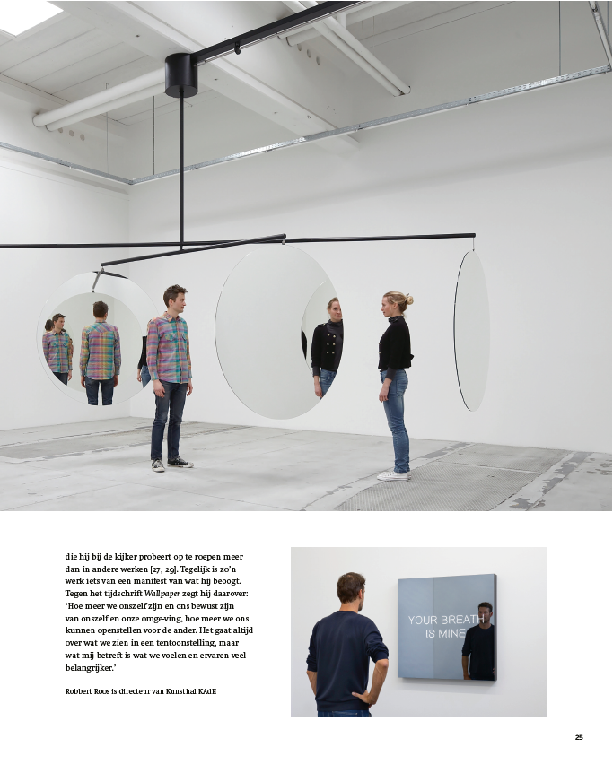 Jeppe Hein in Kunstschrift