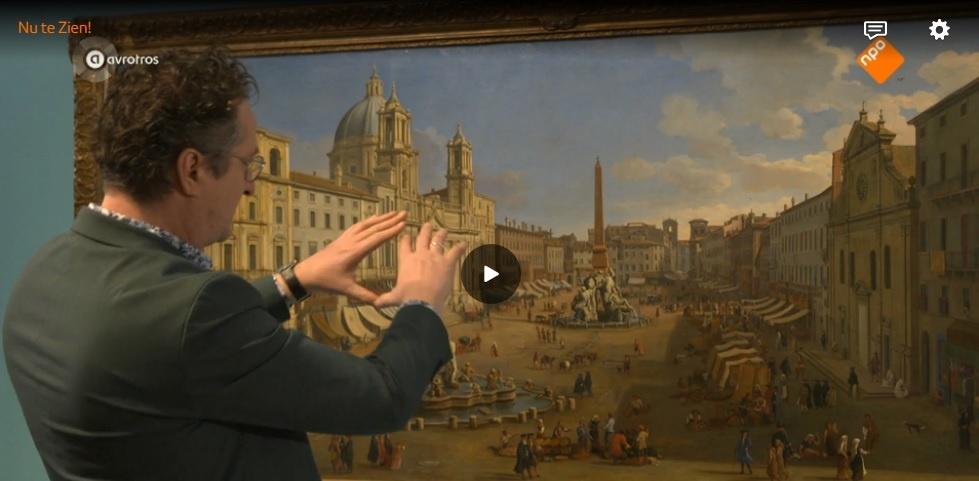 Bart Rutten (directeur Centraal Museum) over Caspar van Wittel in het programma Nu te zien! (duur: 5:58)