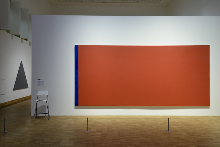 Barnett Newman, Who's afraid of Red, Yellow and Blue III, 1967.