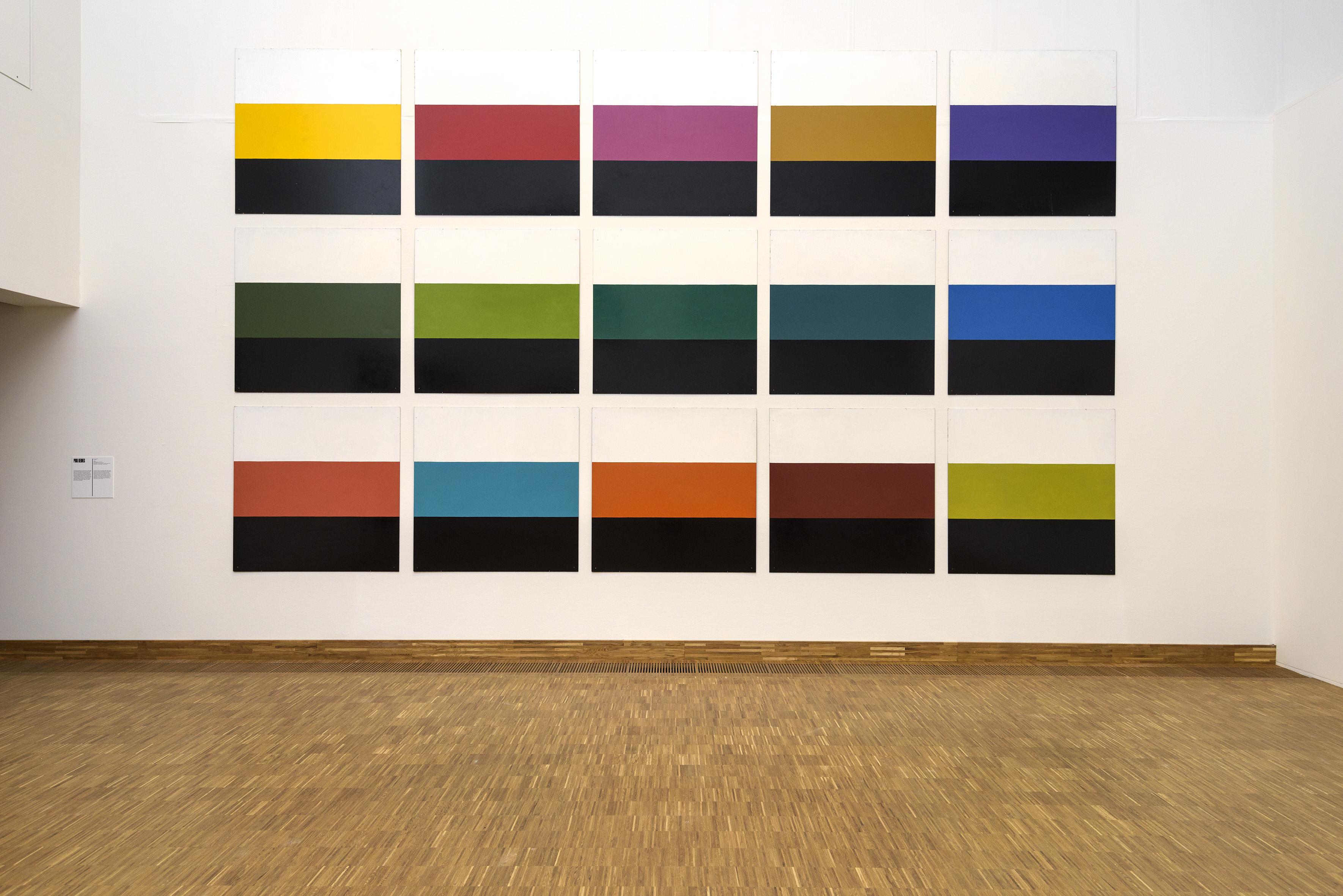 Poul Gernes, Untitled, 1965, emailleverf op masoniet