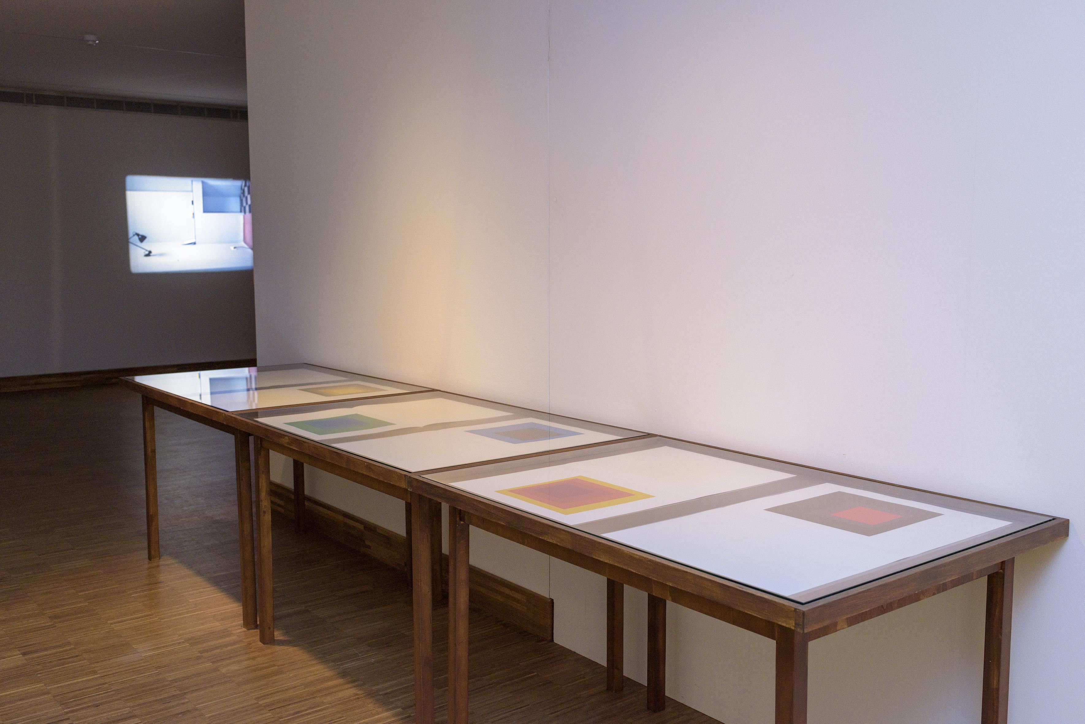 Zaaloverzicht De kleuren van De Stijl met Josef Albers en Katja Mater