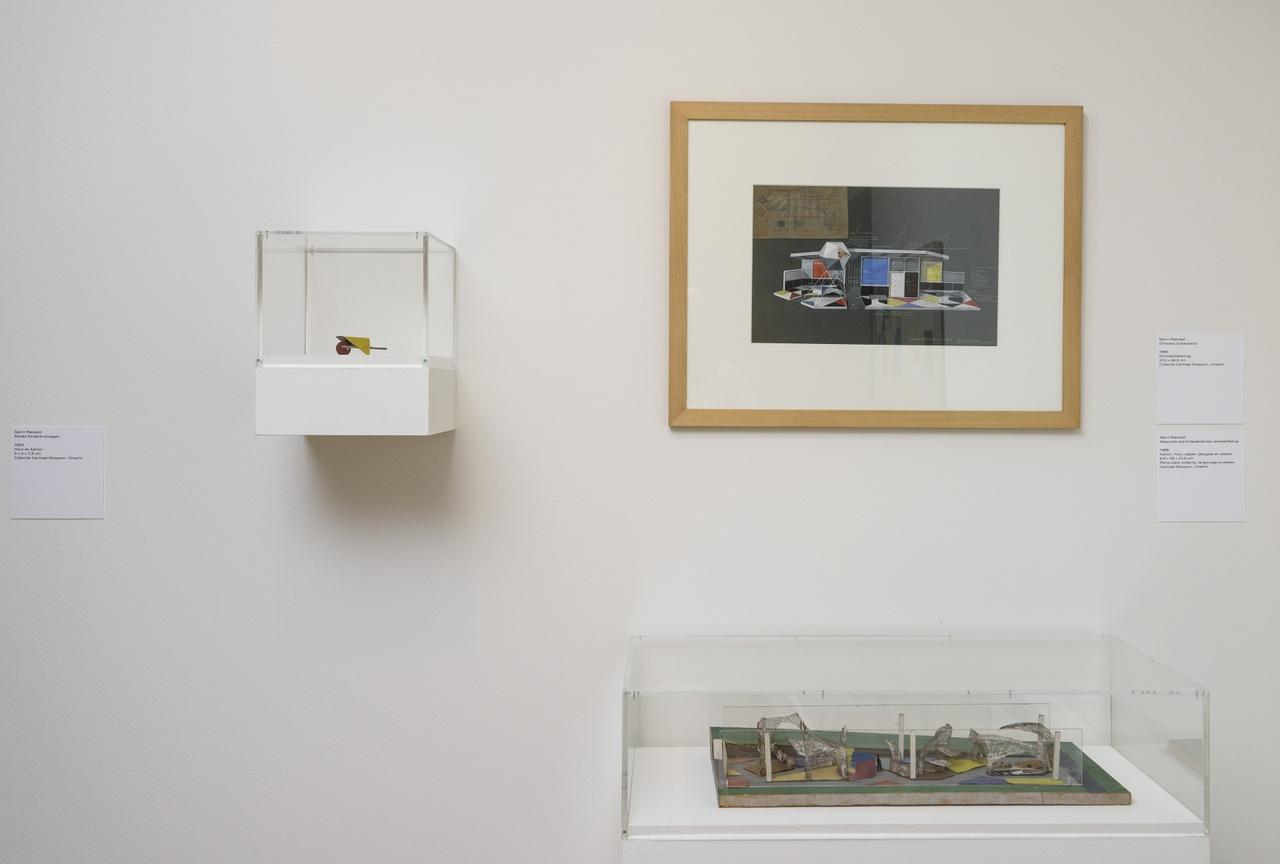 Zaaloverzicht De kleuren van De Stijl met werken Gerrit Rietveld