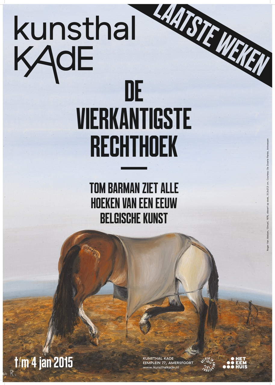 Poster De Vierkantigste recthoek
