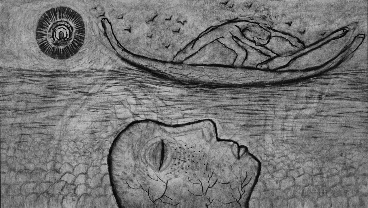 Sadik Kwaish Alfraji, Ali's Boat (video still), 2014, courtesy the artist