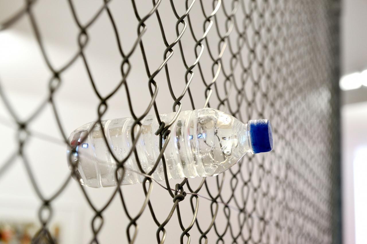 Ryohei Usui,  'Blue cap bottle'   PET, 2013