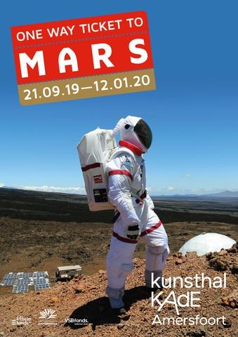 One Way Ticket To Mars-affiche