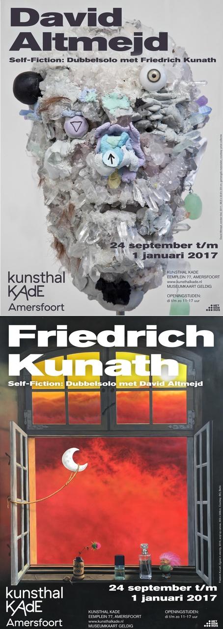 Poster Self-Fiction - dubbelsolo David Altmejd en Friedrich Kunath
