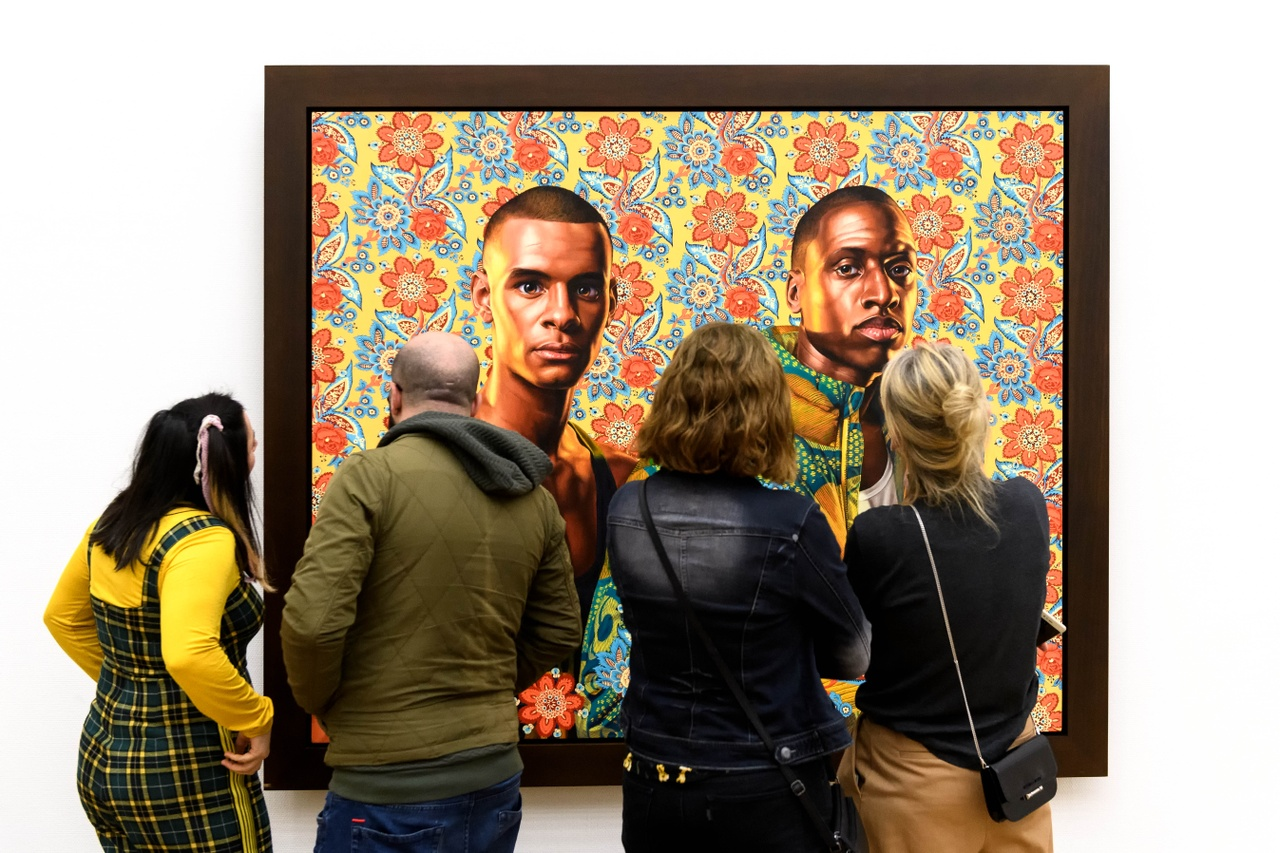 Zaaloverzicht Tell Me Your Story. Kunsthal KAdE 2020. Kehinde Wiley. Foto Mike Bink
