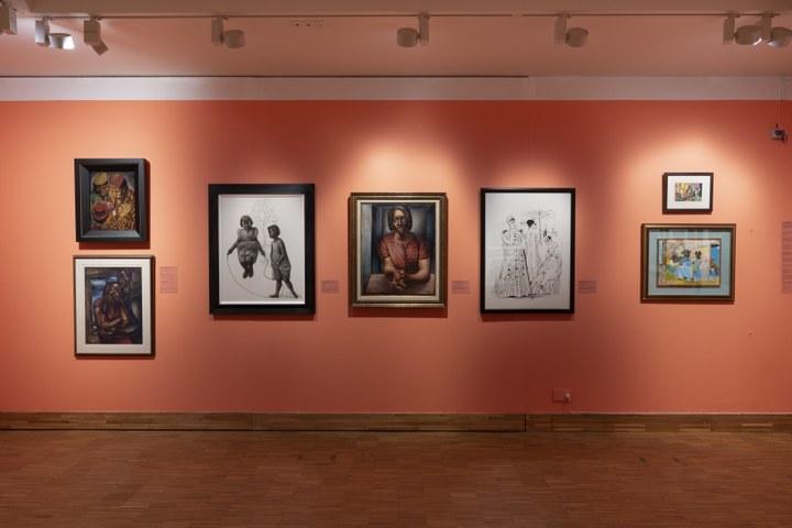 Post Harlem Renaissance met Charles White en Romare Bearden. Photo Peter Cox.jpg