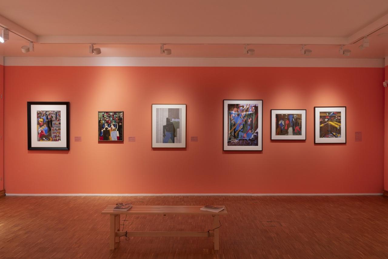 Post Harlem Renaissance met Jacob Lawrence. Photo Peter Cox.jpg