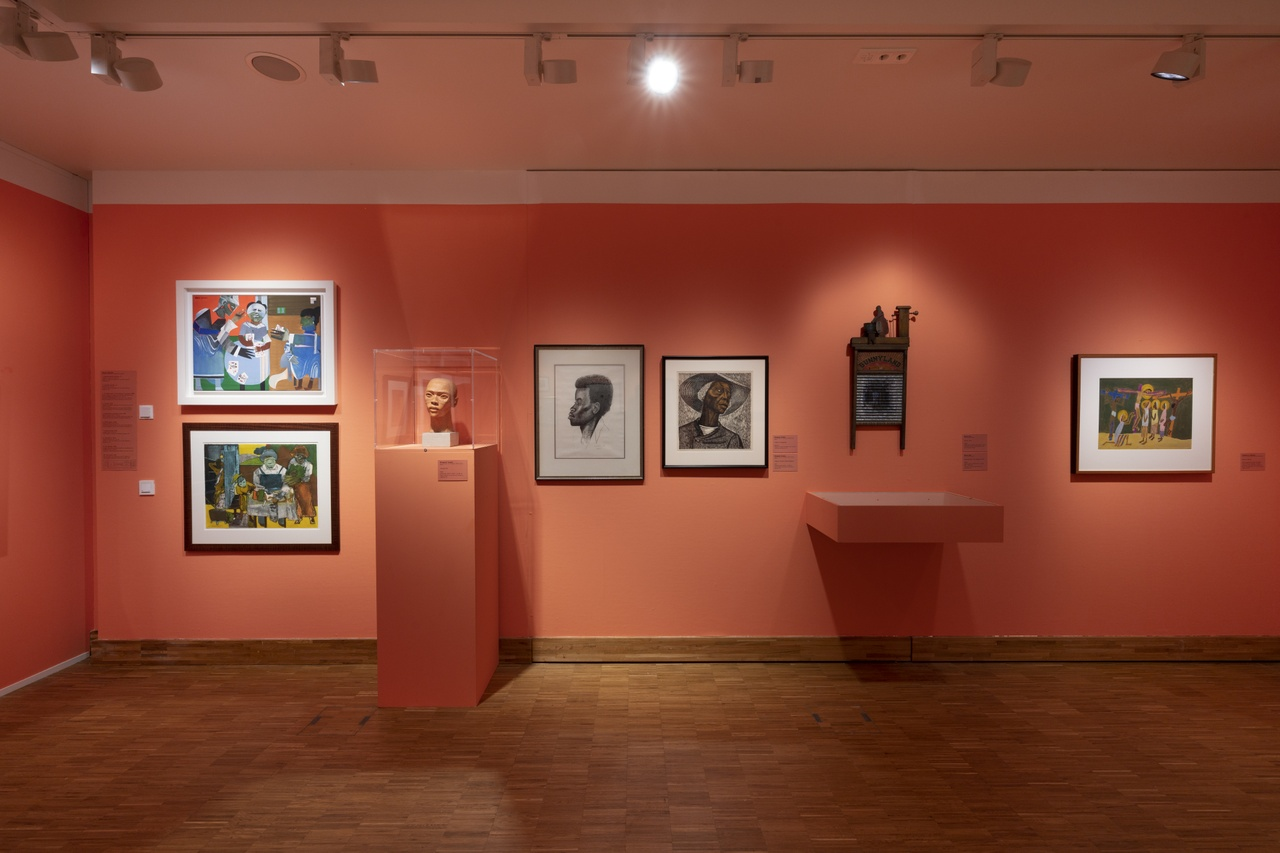 Post Harlem Renaissance met Romare Bearden, Elizabeth Catlett, Betye Saar en William H. Johnson. Photo Peter Cox.jpg