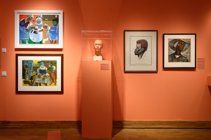 Post Harlem Renaissance met Romare Bearden en Elizabeth Catlett. Photo Mike Bink.jpg
