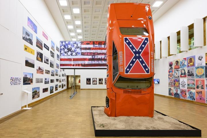 'This Is America | Art USA Today', Kunsthal KAdE 2020. Hank Willis Thomas & For Freedoms