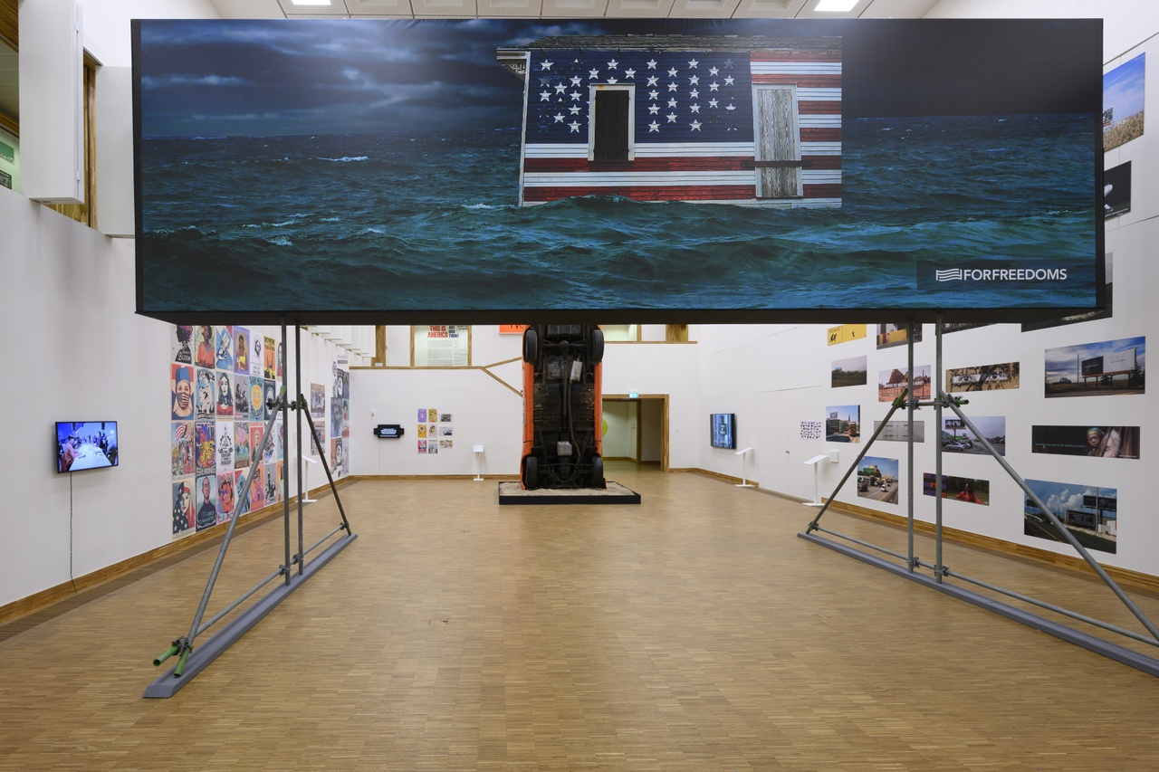 34. Deborah Willis & For Freedoms' 50 State Initiative. Photo Peter Cox for Kunsthal KAdE.jpg