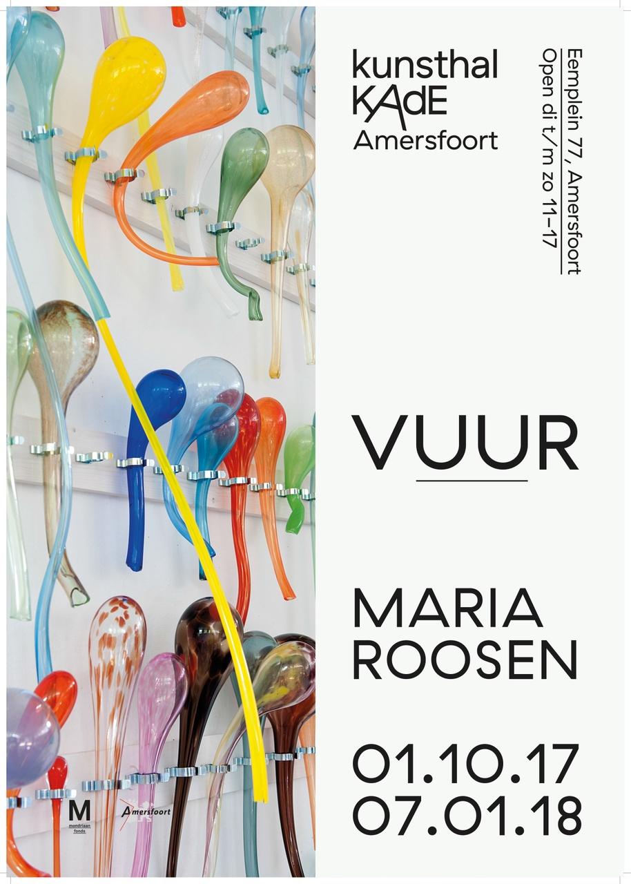 Poster Maria Roosen VUUR